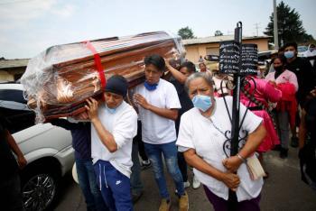 México, tercero con más muertos  por Covid al día en el mundo