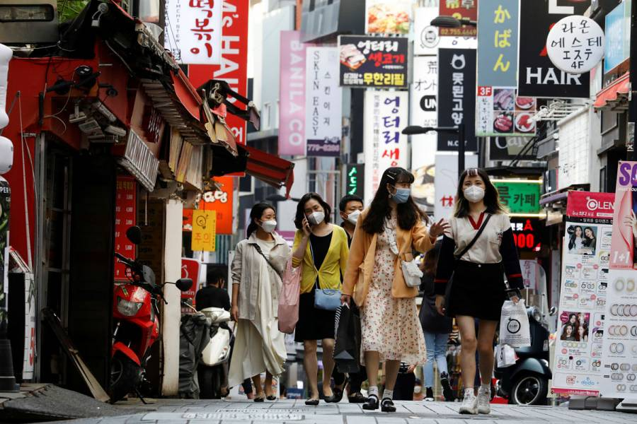 Corea del Sur se prepara para rebrote de coronavirus
