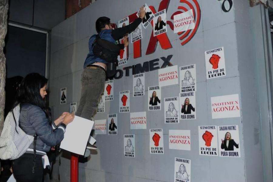 Luis Mendoza pide solucionar conflicto de Notimex