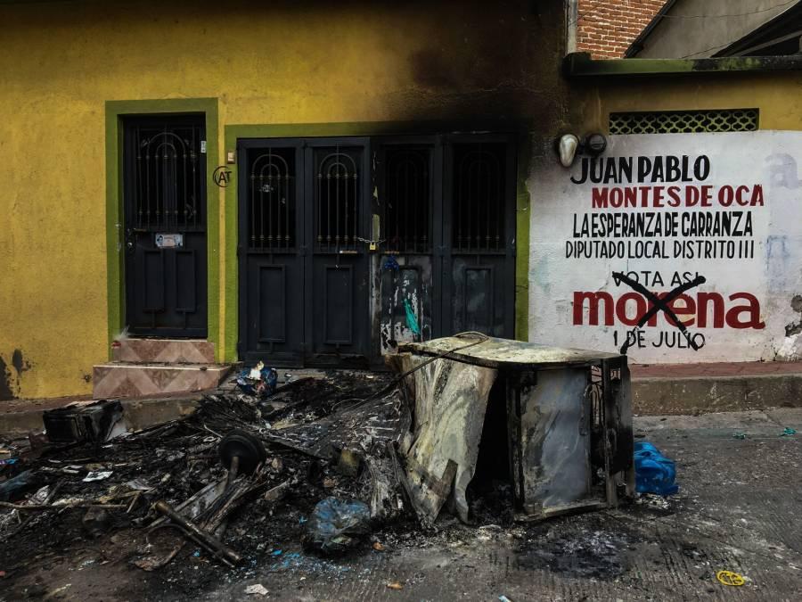 Tras disturbios en municipio de Chiapas, envían 400 agentes