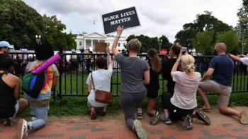 Cierran Casa Blanca por protestas