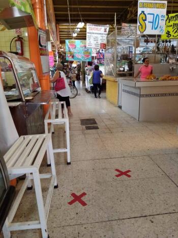 Así luce el Mercado Juan de la Barrera en Iztapalapa