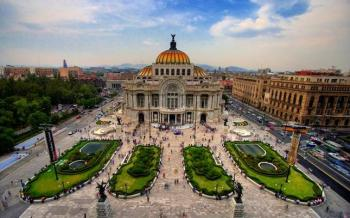 El reto para construir el Palacio de Bellas Artes