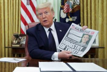 Twitter oculta mensaje de Trump por