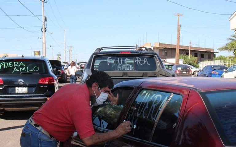 Realizan caravanas a nivel nacional para exigir renuncia de AMLO