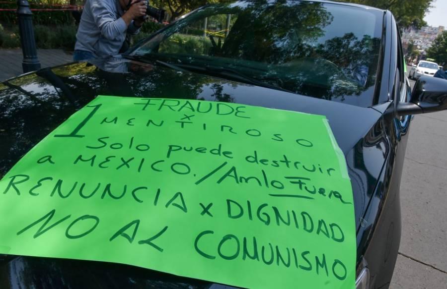 CDMX y varios estados inician caravana Anti AMLO