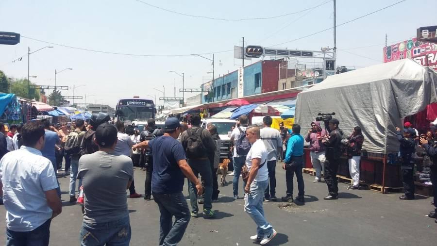 Tepito regresa a la normalidad a pesar del semáforo rojo en la CDMX