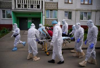 Rusia cerca de los 400 mil casos de Covid-19
