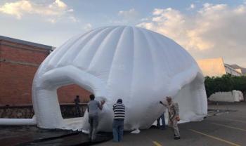 Instalarán hospital inflable para Covid-19 en la Universidad de Guanajuato