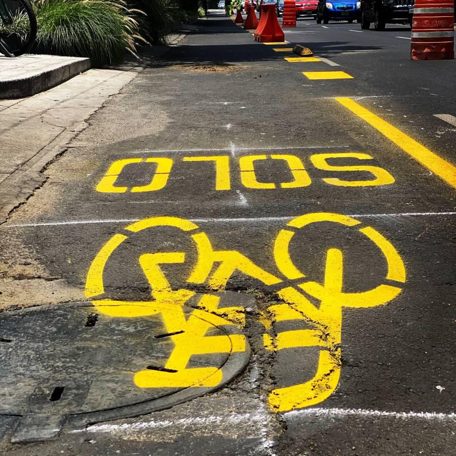 Habilitarán ciclovías en CDMX para no saturar el transporte público