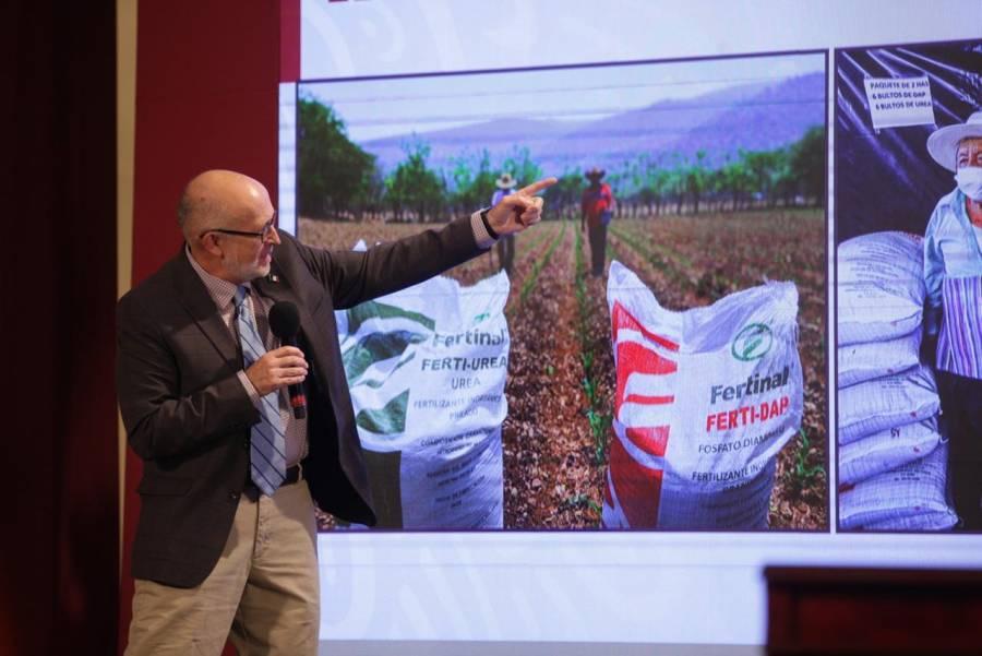 Agricultura refuerza acciones para producción de alimentos durante pandemia