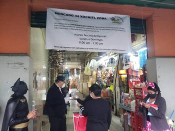 ENTREGARÁN DESPENSAS EN XOCHIMILCO DURANTE CUARTA FASE DE LA PANDEMIA