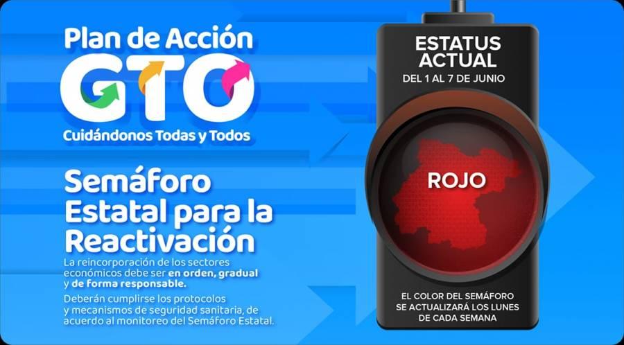 Entra en vigor el Semáforo Estatal para la Reactivación en Guanajuato