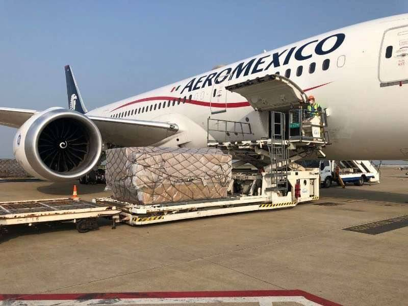 Ebrard: en camino a México el décimo quinto vuelo procedente de Shangai con insumos médicos