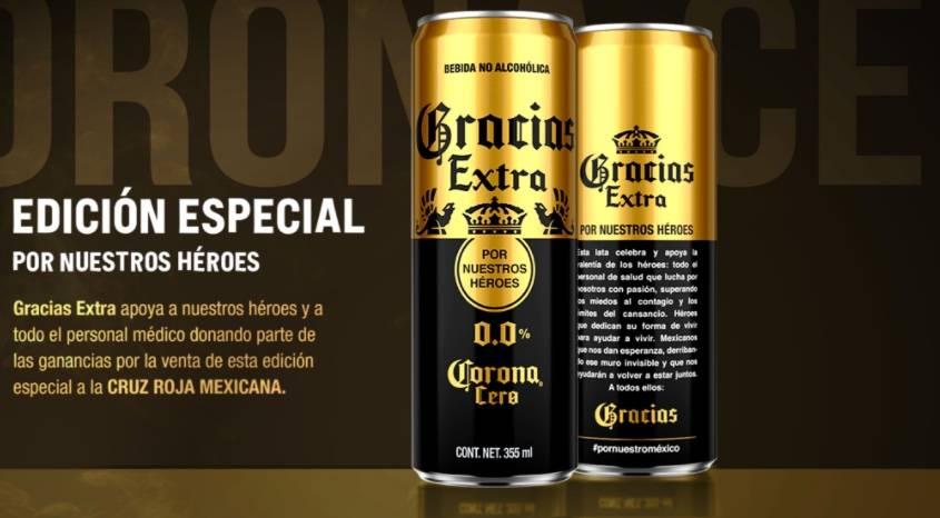 Grupo Modelo lanza edición especial de Corona Cero para apoyar a la Cruz Roja