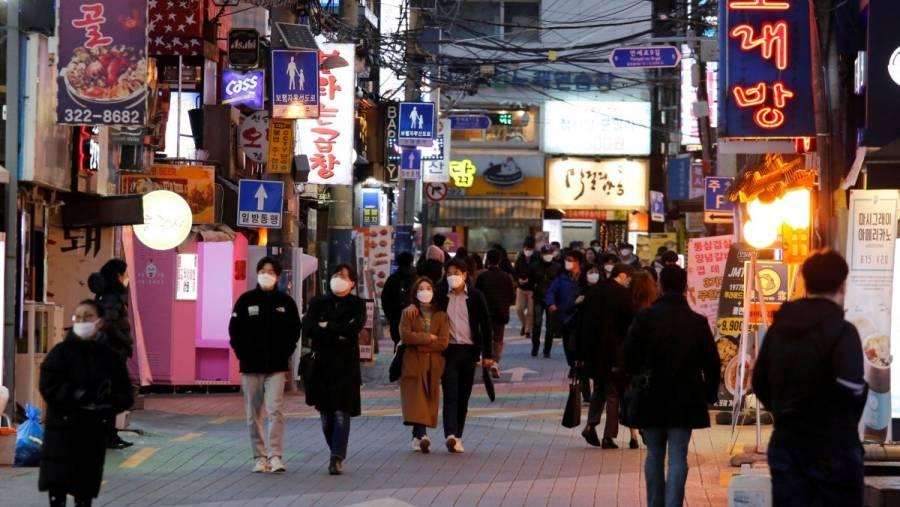 Nuevas infecciones grupales de COVID-19 enfrenta Corea del Sur