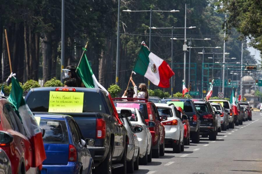 """""""Protestas, signo de democracia"""""""