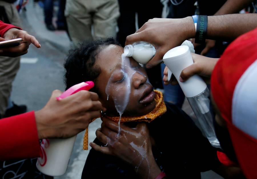 Mujeres y jóvenes, la cara de las  protestas contra la violencia racial