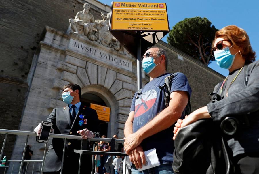 Italia registra 55 nuevas muertes por Covid-19 y 318 casos
