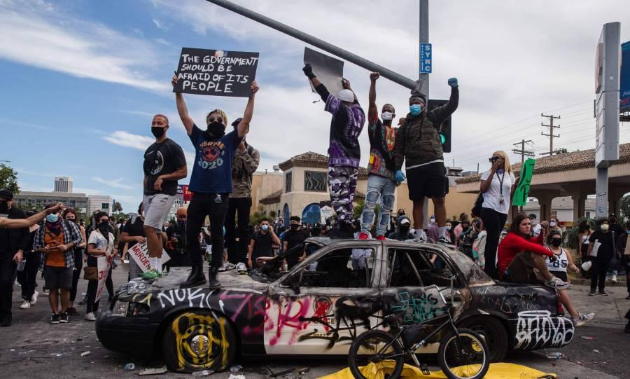 Se reportan dos tiroteos en Las Vegas, en las protestas por George Floyd