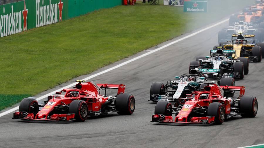 GP de Italia aparta su lugar en el calendario de F1