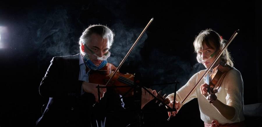 Sin público y con sana distancia, orquestas alistan regreso