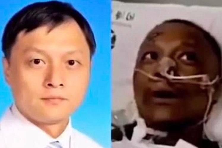 Muere médico que cambió color de piel por COVID-19