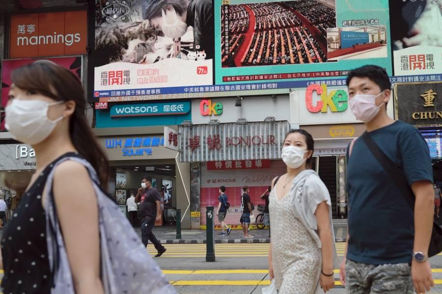 Temen en Hong Kong una