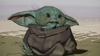 ¡Baby Yoda era horrible!