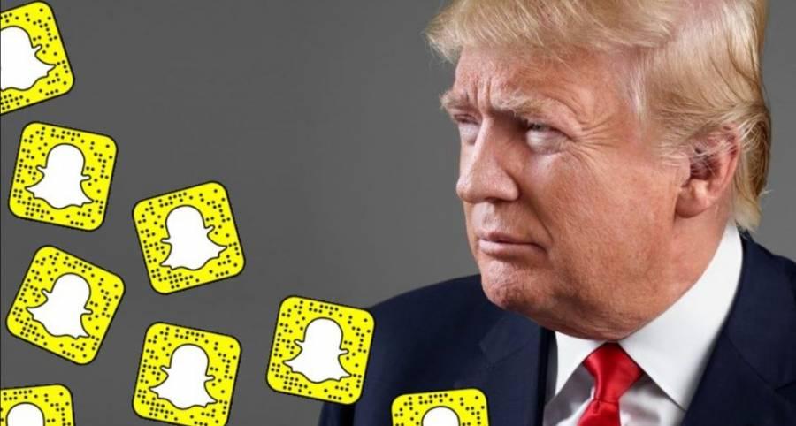 Snapchat considera que Trump incita a la violencia