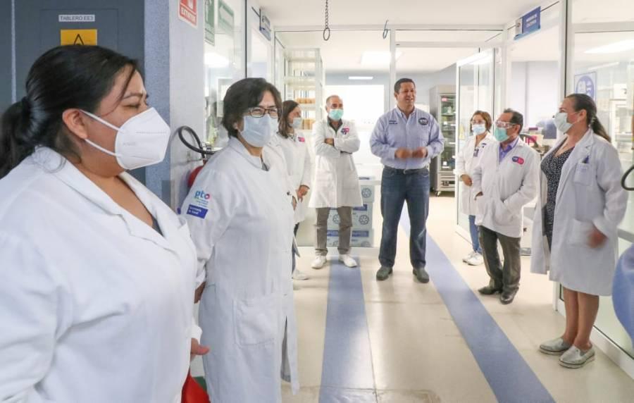 Se procesan en LaESaP unas 500 muestras diarias para detectar casos de COVID-19