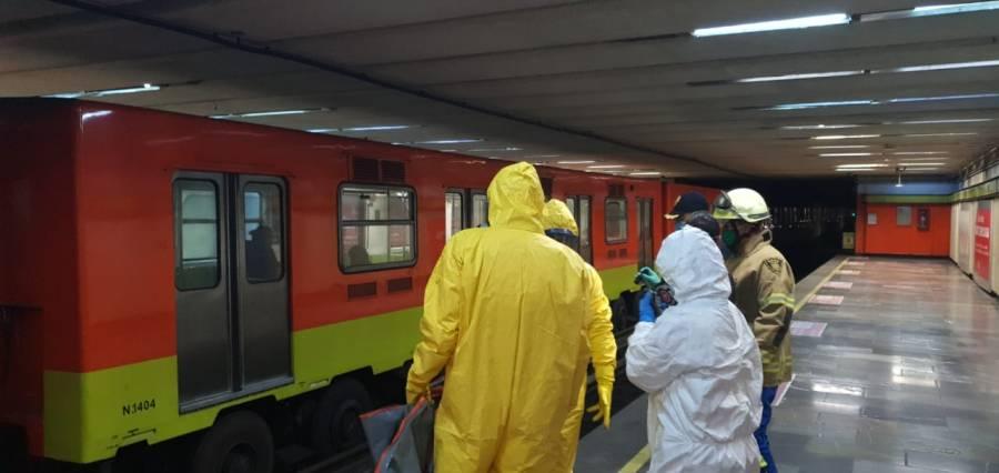 Muere persona que se arrojó a vías del Metro Eugenia