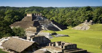 Descubrimiento de Templo maya milenario en Tabasco