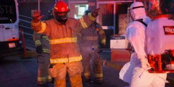 Se registra incendio en área Covid de ISSSTE en Tepic