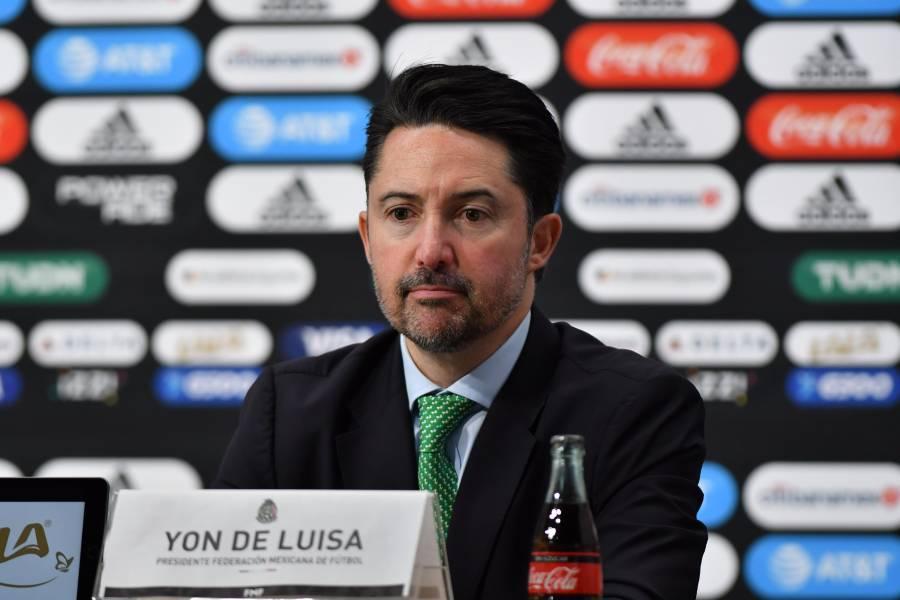 México buscará regresar a la Copa América en 2024: Yon de Luisa