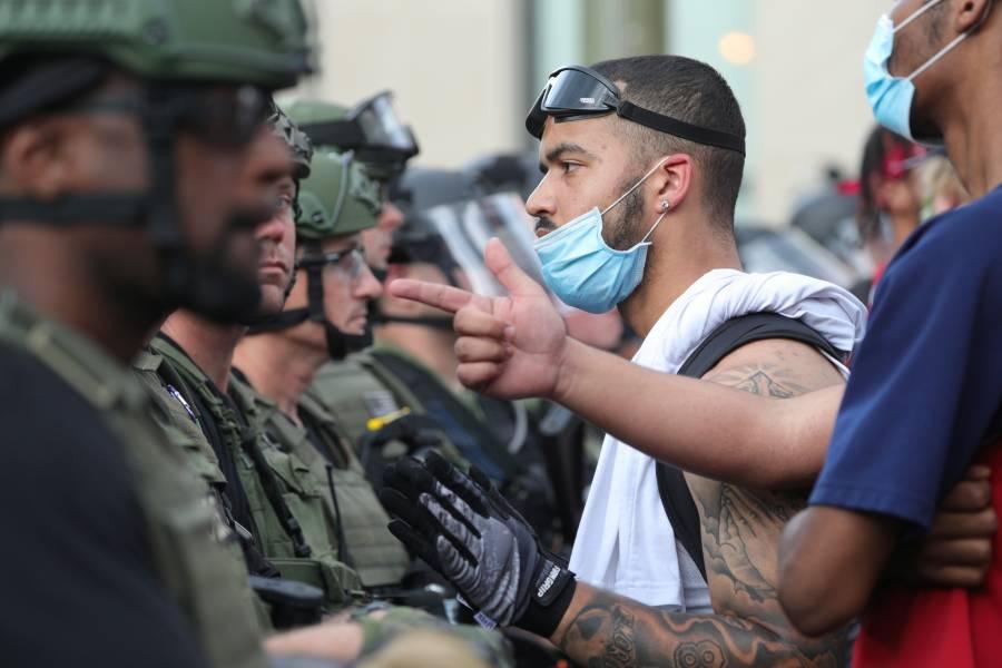 Trump invoca ley de antirracista para sacar Ejército a las calles;