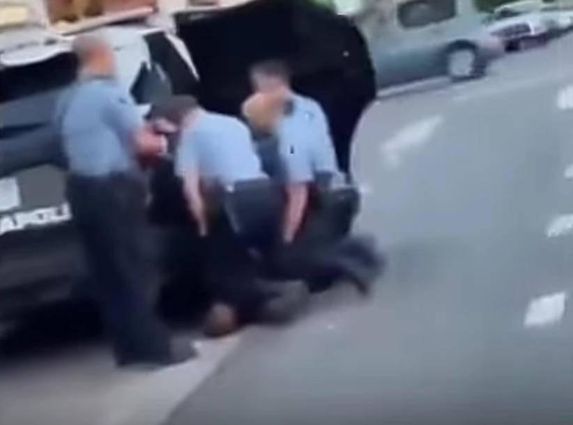 750 mil dólares de fianza para 3 policías partícipes en la muerte de George Floyd