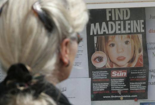 Fiscalía de Alemania asume que Madeleine McCann está muerta