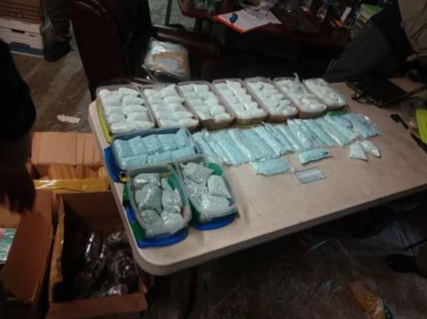 FGR y Sedena incautan cocaína, marihuana y metanfetamina en Tijuana, Baja California