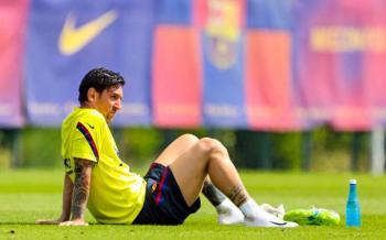 Messi no entrena y enciende las alarmas en el Barcelona