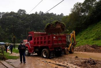'Cristóbal' causa inundaciones en Campeche