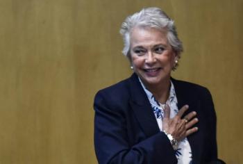 ¿Por qué no usa cubrebocas Olga Sánchez Cordero, Secretaria de Gobernación?
