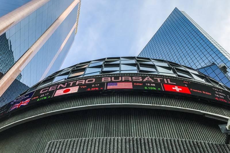 Bolsa Mexicana abre con ganancia de 0.92 por ciento