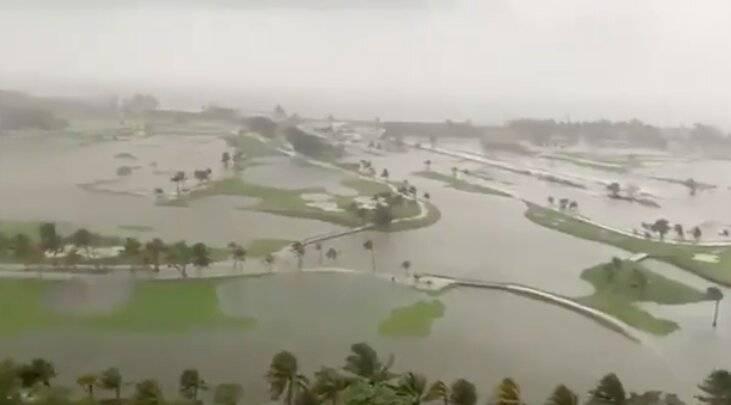 Cristóbal deja inundaciones en el sureste; prevén deslaves