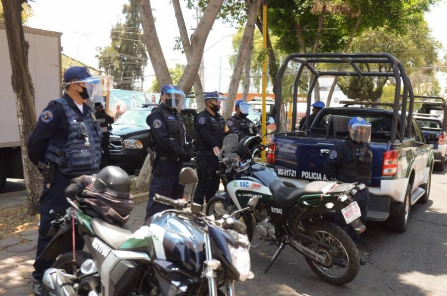 CONCLUYE MANIFESTACIÓN DE POLICÍAS; HABRÁ INCREMENTO SALARIAL DEL 20 POR CIENTO