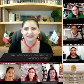 TEPJF propone crear un Observatorio para verificar cómo se juzgan los casos de mujeres