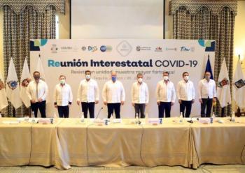 Gobernadores dan su respaldo a Enrique Alfaro sobre el Covid-19