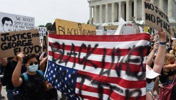 Manifestantes comienzan a reunirse en Washington