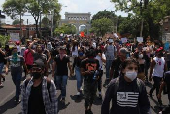 Nueva protesta en Jalisco por muerte de Giovanni