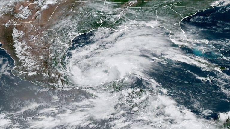 Tormenta Cristóbal llega a Louisiana